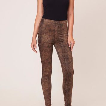 BB Dakota - Brown Sidewinder Pants
