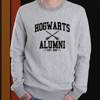 Hogwarts Alumni sweater Sweatshirt Crewneck Men or Women Unisex Size
