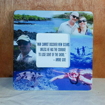 Picture Frame, Photo Frame, Photo Collage, Custom Photo Collage, Photo Collage Frame, Wood Photo Frame, Gifts for Mom, Wedding Gifts