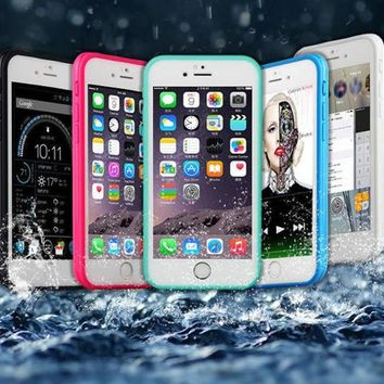 Day-First™ Waterproof Underwater Shockproof Durable Full Sealed Protective Case Cover iPhone 6S 6 Plus 5S 5 Se