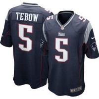 Nike Men's New England Patriots Tim Tebow #5 Home Game Jersey - Dick's Sporting Goods