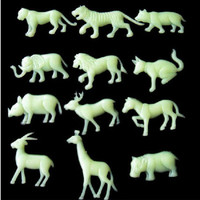 Pleasing Animals Glow In The Dark Star Stickers Kid Bedroom Home Wall Decor LAUS