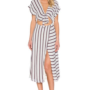 Privacy Please Allard Dress in Papyrus