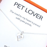 Pet Lover II Charm Necklace Set
