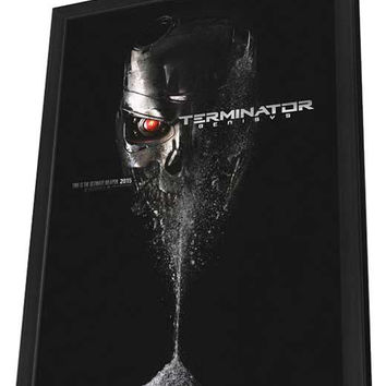 Terminator Genisys 27x40 Framed Movie Poster (2015)