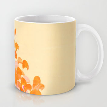 CREATION IN COLOR Autumn Infusion - Colorful Abstract Acrylic Painting Fall Splash Ombre Ocean Waves Mug by EbiEmporium