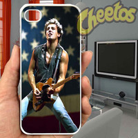 Bruce Springsteen American Flag - For iPhone Case,iPhone 4/4S/5/5S/5C, Samsung S3/S4/S5/S3 Mini/S4 Mini