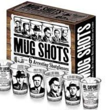Mug Shots - Shotglasses (Set of 6)
