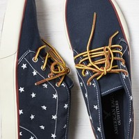 AEO Men's Canvas Chukka (Navy)