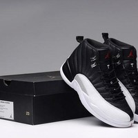 DCCK Air Jordan 12 Retro Black/White