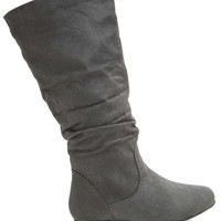 Zerin 1 Fx Suede Basic Slouch Boot