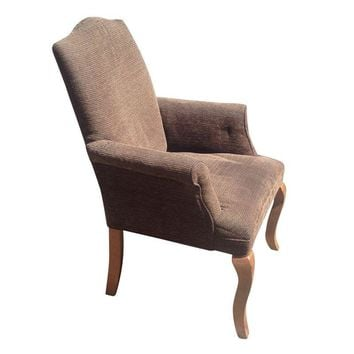 Pre-owned Pottery Barn Upholstered End Chair