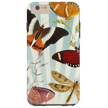 vintage butterfly collage tough iPhone 6 plus case