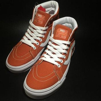 Vans SK8-Hi Old Skool Canvas Ankle Boots Flat Ankle Boots Sneakers Sport Shoes