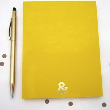 Ampersand notepad