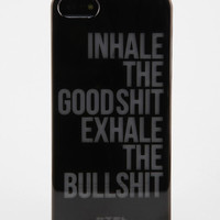 Urban Outfitters - Glow-In-The-Dark Phrase iPhone 5 Case