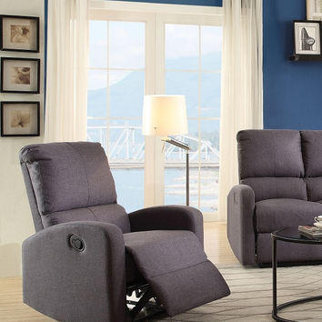 Wimarc Gray Recliner Chair 53557