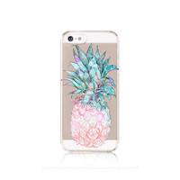 Pineapple iPhone 6 Case Clear iPhone 5 Case Clear Pineapple iPhone 5 Case iPhone 6 Case Pineapple iPhone 5 Case Samsung Galaxy S5 Case Clear