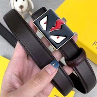 Fendi tide brand glasses logo buckle belt