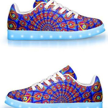 The Door by Alex Aliume - APP Controlled Low Top LED Shoes