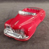 Vintage Auburn Rubber - Red Lincoln Convertible Car - Very Nice Condition