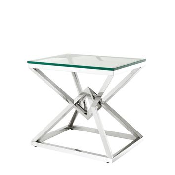 Stainless Steel Side Table | Eichholtz Connor