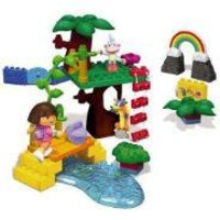Mega Bloks Dora's Rainbow Rocks Adventure