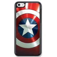 Captain America Protective Hard Phone Case For iPhone 5c case