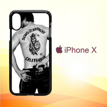 Paul walker Sons of anarchy tatto Z1499 iPhone X Case
