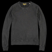 UNIONMADE - Levi's Vintage Clothing - 1950s Crew Sweatshirt in Jet Black