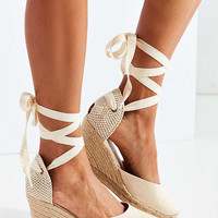 Soludos Linen Espadrille Tall Wedge Sandal | Urban Outfitters