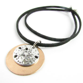 Sand Dollar Cord Necklace