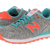 New Balance Classics WL574 - Glitch Tidepool - Zappos.com Free Shipping BOTH Ways