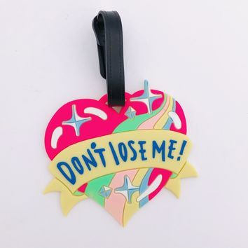 Don't Lose Me Luggage ID Tag