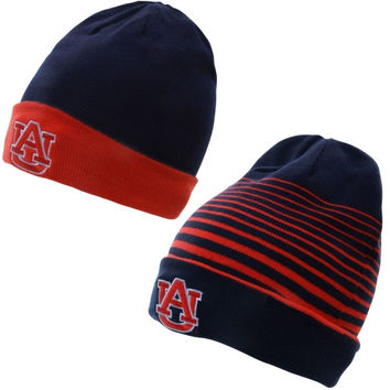Auburn Tigers Under Armour 2014 Sideline Switch It Up Reversible Beanie - Navy Blue