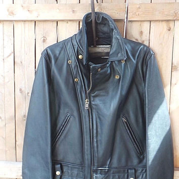 NWT Schott NYC RARE1993 *Leather Jacket*  STYLE 621 MADE IN USA  SZ 42 ORIGINAL