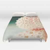 sea urchin series no 2 Duvet Cover by Erin Johnson