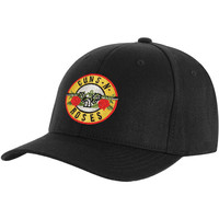 Guns N Roses Men's  Bullet Logo Baseball Cap Black Rockabilia