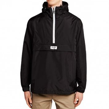 Huf Sequoia Anorak Jacket - Black
