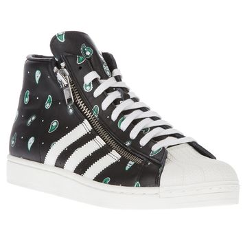 Adidas Originals X Opening Ceremony Lace-Up Printed Trainer