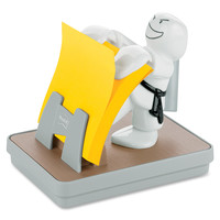 Post-it Karate Pop-up Note Dispenser with Pen Holder