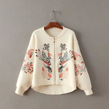 Autumn Knit Tops Sweater Jacket [8431753805]