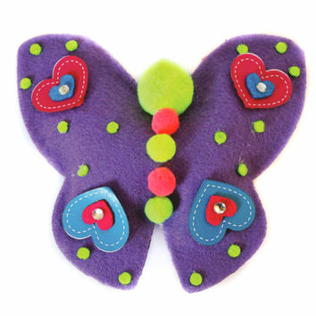 DIY Felt Butterfly Pillow Project Set