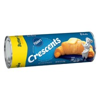 Pillsbury Refrigerated Butter Flake Crescent Rolls, 8 Ct, 8 oz - Walmart.com