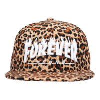 Forever Young Leopard Snapback