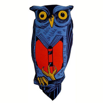 Reading Owl Doll