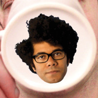 The IT Crowd Mug/Cup Maurice Moss Richard Ayoade Face