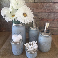 Bathroom Mason Jar Set