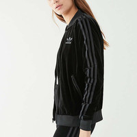 adidas Originals Velvet Track Top | Urban Outfitters