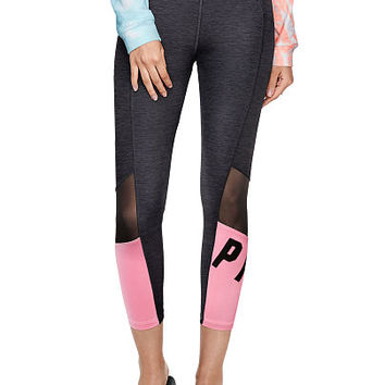 Ultimate High Waist Mesh Pocket Legging - PINK - Victoria's Secret